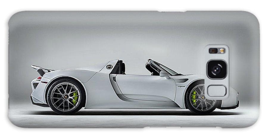 Porsche Galaxy S8 Case featuring the digital art Porsche 918 Spyder by Douglas Pittman