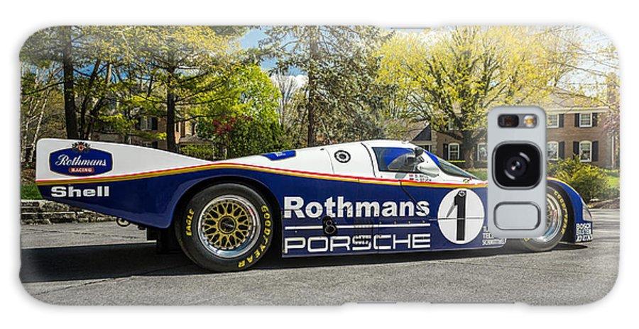 Porsche Galaxy S8 Case featuring the photograph Porsche 962c by Kyle Hinderer