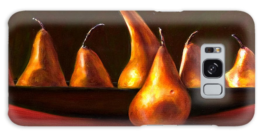 Still Life Galaxy S8 Case featuring the painting Port Au Pear by Shannon Grissom