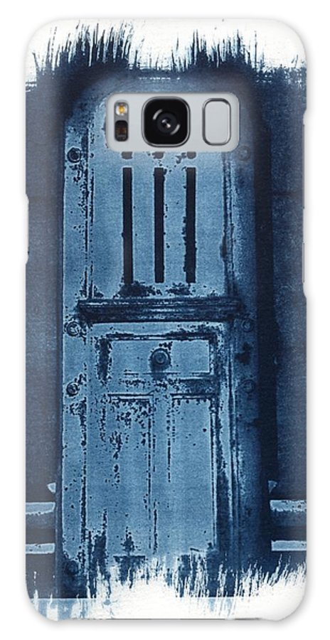 Cyanotype Galaxy Case featuring the photograph Portals by Jane Linders
