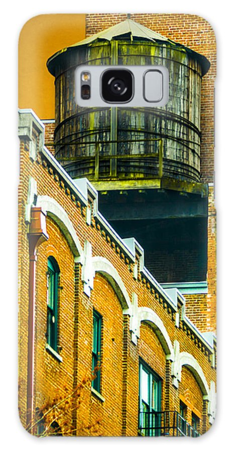 Rooftop Galaxy S8 Case featuring the photograph Portland Water Tower II by Albert Seger