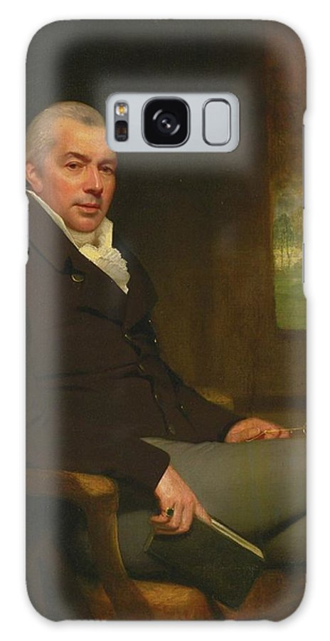 Attributed To Thomas Phillips Galaxy S8 Case featuring the painting Portrait Of A Gentleman by Thomas Phillips