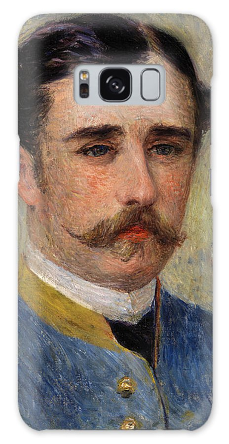 Man Galaxy Case featuring the painting Portrait Of A Man, Monsieur Charpentier by Pierre-Auguste Renoir