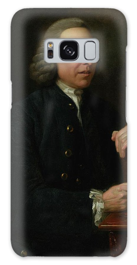 Johan Zoffany R.a.  1733 - 1810  Portrait Of Benjamin Stillingfleet (1702-1771)) Galaxy S8 Case featuring the painting Portrait Of Benjamin Stillingfleet by Johan Zoffany