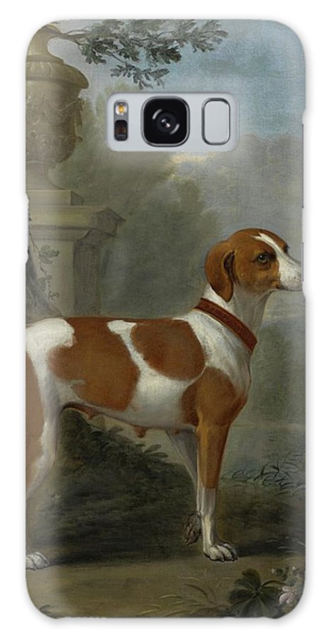 John Wootton Portrait Of The Duke Of Hamilton's Hound Galaxy S8 Case featuring the painting Portrait Of The Duke Of Hamilton Hound by John Wootton