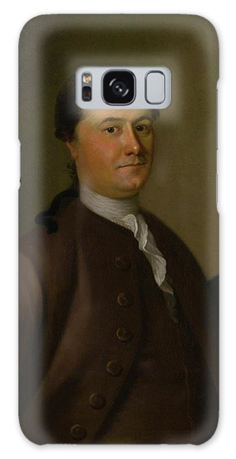 Joseph Blackburn (c. ) Portrait Of Thomas Amory Galaxy S8 Case featuring the painting Portrait Of Thomas Amory by MotionAge Designs