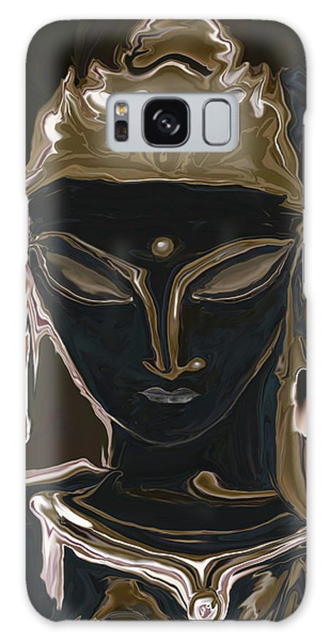 Art Galaxy S8 Case featuring the digital art Portrait Of Vajrasattva by Rabi Khan