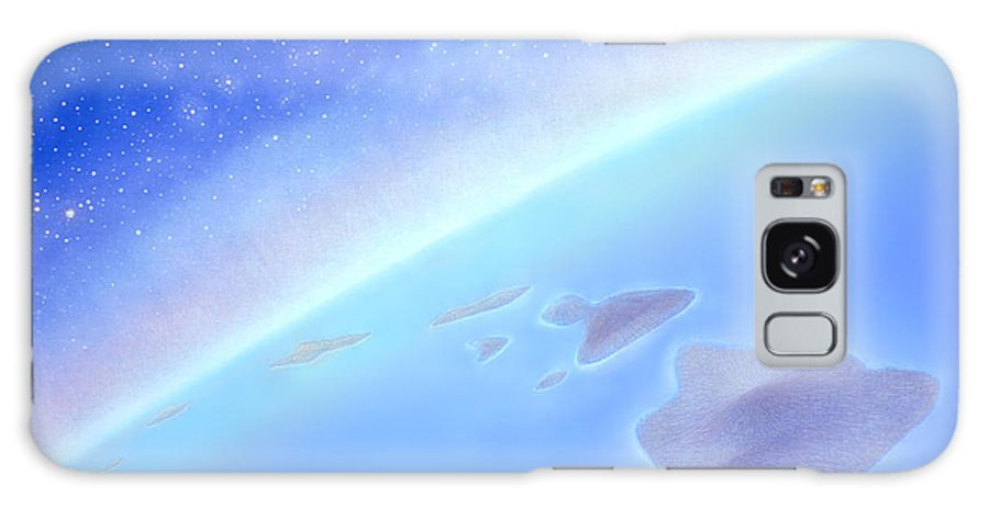 Hawaiian Islands Galaxy S8 Case featuring the painting Postcards From Concorde by Kevin Smith