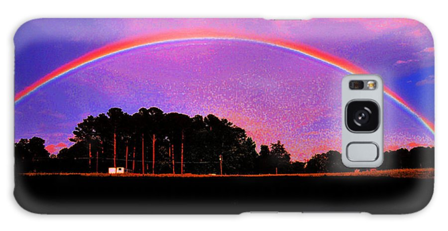 Rain Bows Galaxy S8 Case featuring the photograph Pot Of Gold by Mike Fairchild