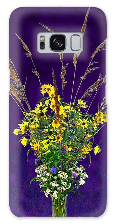 Flowers Galaxy S8 Case featuring the photograph Prairie Bouquet by Steve Karol