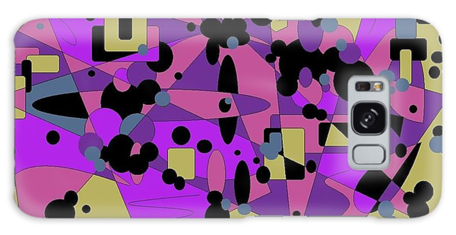 Digital Abstract Galaxy S8 Case featuring the digital art Pretty Picture by Jordana Sands