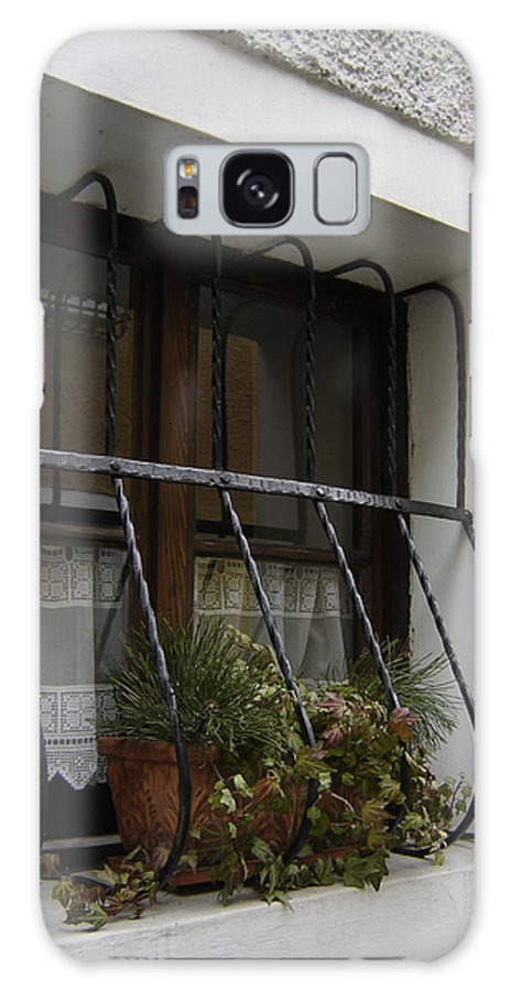Window Galaxy Case featuring the photograph Pretty Window by Mary Rogers