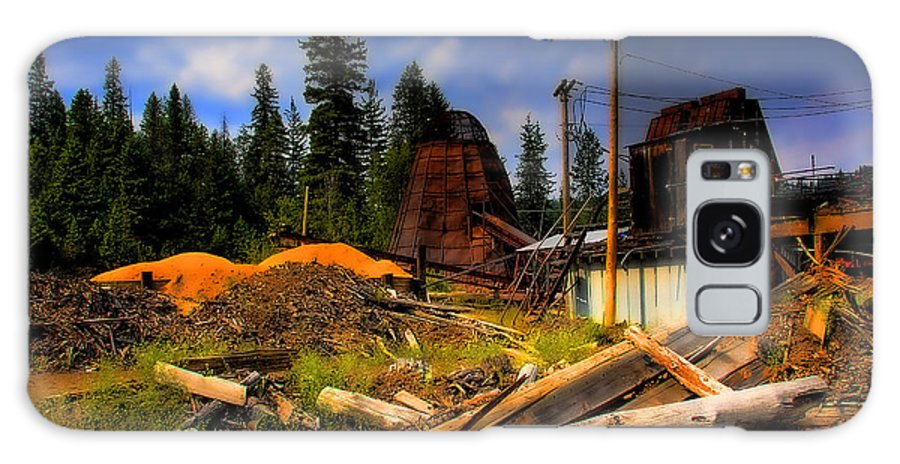 Priest Lake Galaxy S8 Case featuring the photograph Priest Lake Mill by David Patterson