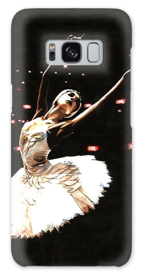 Prima Ballerina Galaxy S8 Case featuring the painting Prima Ballerina by Richard Young