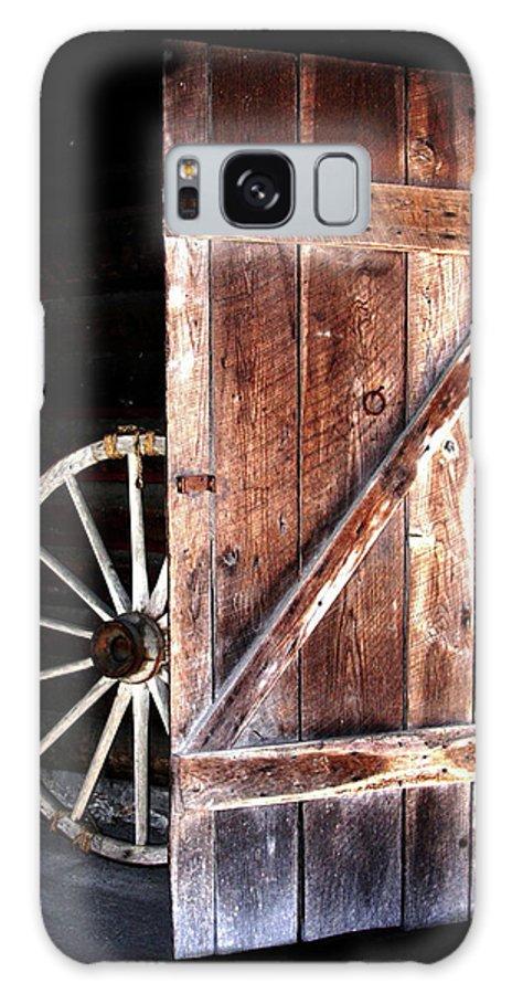 Door Galaxy S8 Case featuring the digital art Primitive by Kim Henderson