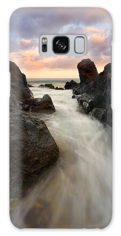 Sunrise Galaxy S8 Case featuring the photograph Primordial Tides by Mike Dawson