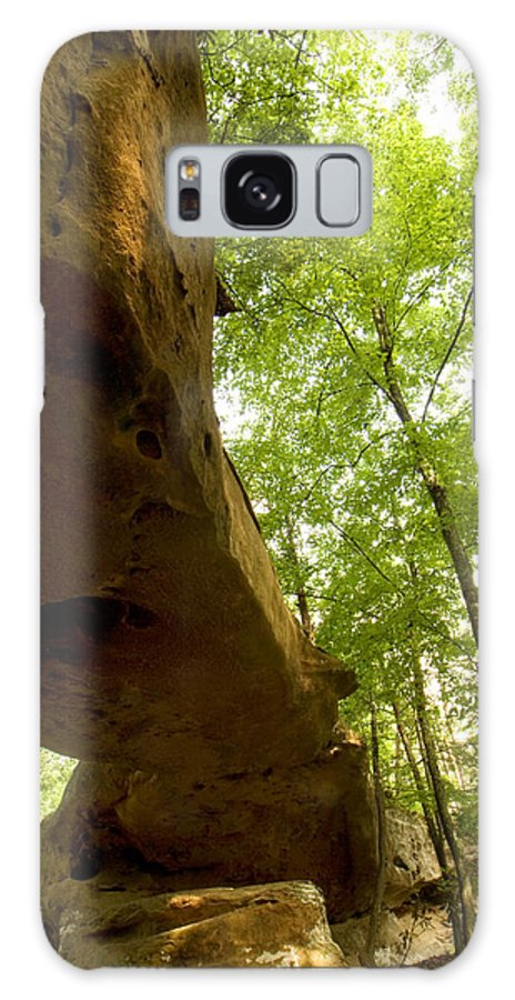Landscape Galaxy S8 Case featuring the photograph Princess Arch From Below by Amanda Kiplinger