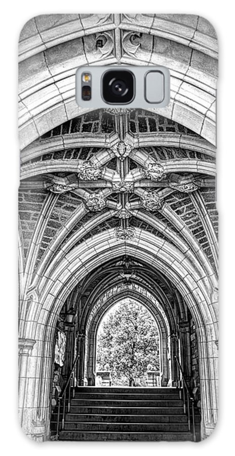 Recent Galaxy S8 Case featuring the photograph Princeton University Arched Walkway by Geraldine Scull