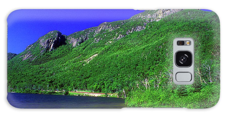 New Hampshire Galaxy S8 Case featuring the photograph Profile Lake Franconia Notch by John Burk