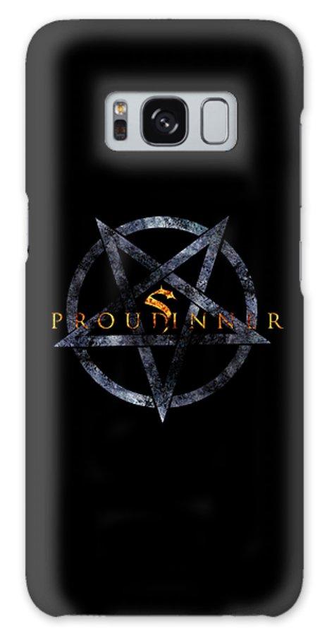 Fire Galaxy S8 Case featuring the digital art Proud Sinner by Priscilla Vogelbacher
