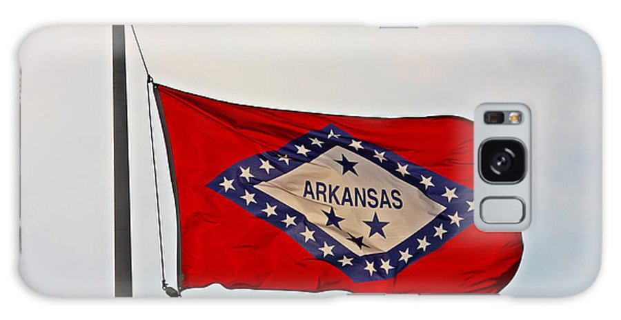 Arkansas Galaxy S8 Case featuring the photograph Proud To Be An Arkansan- Fine Art by KayeCee Spain
