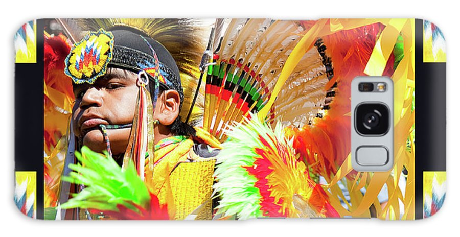 Native American Galaxy S8 Case featuring the photograph Proud To Dance by Theresa Tahara