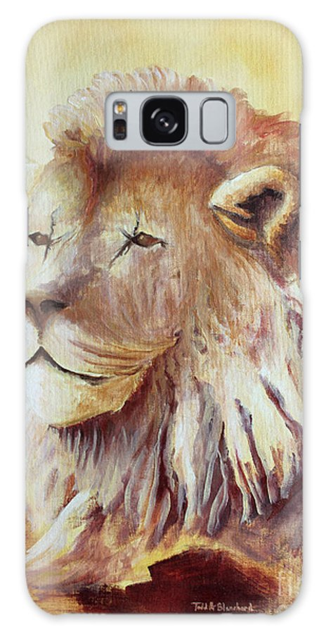 Animal Galaxy S8 Case featuring the painting Proud by Todd Blanchard