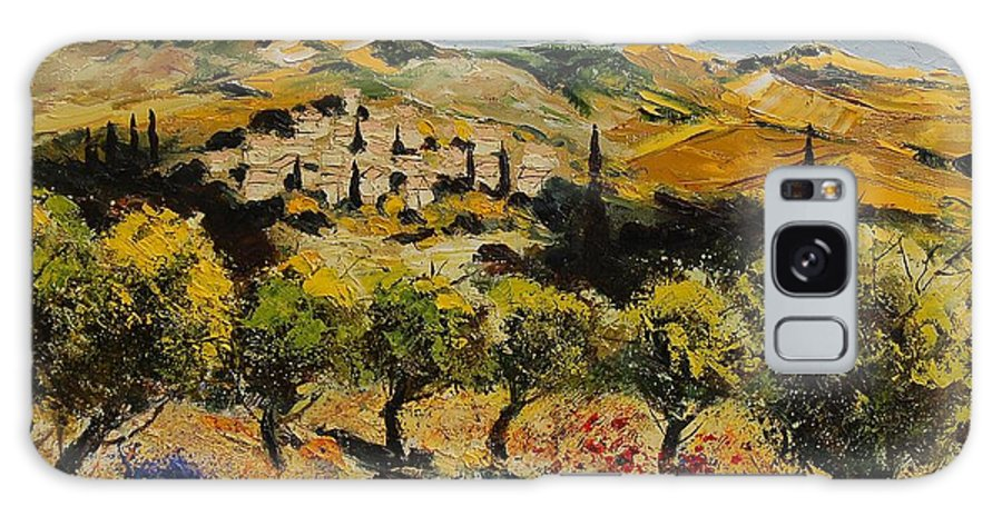 Provence Galaxy S8 Case featuring the painting Provence 10080 by Pol Ledent