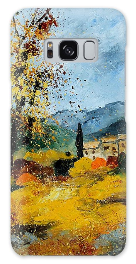 Provence Galaxy S8 Case featuring the painting Provence 45 by Pol Ledent