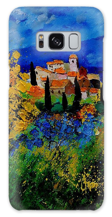 Poppies Galaxy S8 Case featuring the painting Provence 459001 by Pol Ledent
