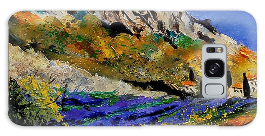 Flowers Galaxy S8 Case featuring the painting Provence 560908 by Pol Ledent