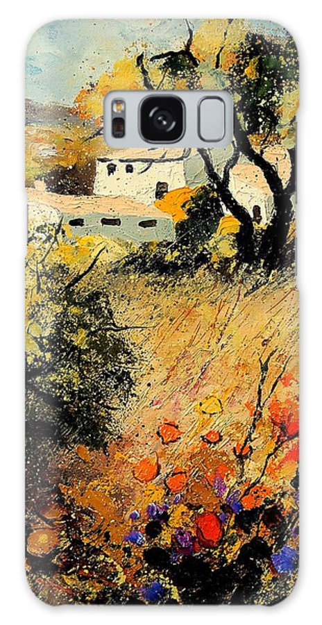 Provence Galaxy S8 Case featuring the painting Provence 56123 by Pol Ledent