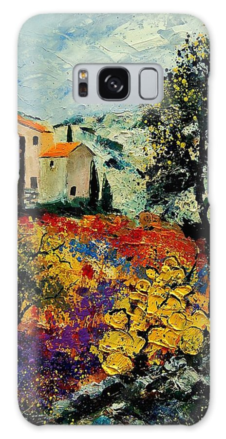 Provence Galaxy S8 Case featuring the painting Provence 56900192 by Pol Ledent
