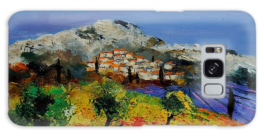 Provence Galaxy Case featuring the painting Provence 569010 by Pol Ledent