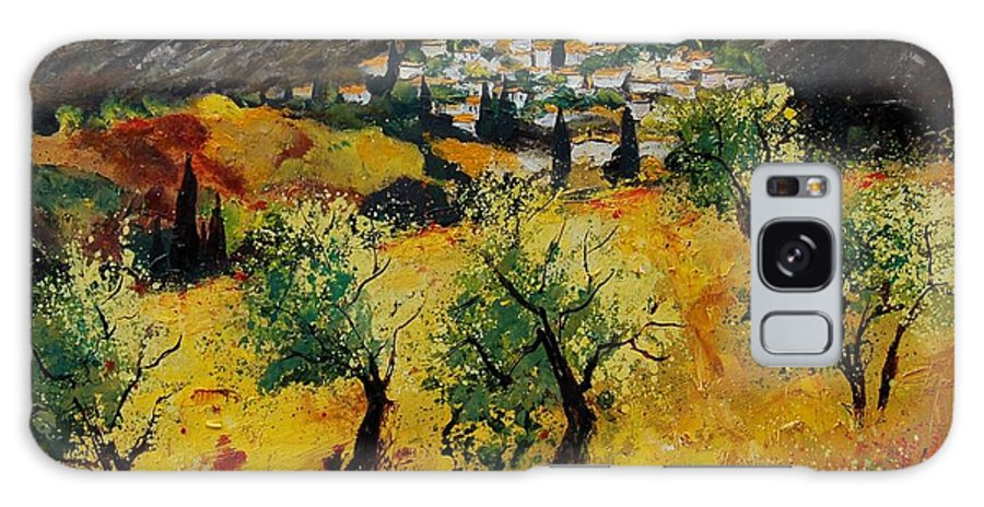 Provence Galaxy S8 Case featuring the painting Provence 789080 by Pol Ledent
