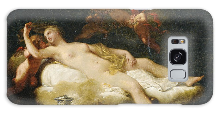 Jean-baptiste Regnault Galaxy S8 Case featuring the painting Psyche by Jean-Baptiste Regnault