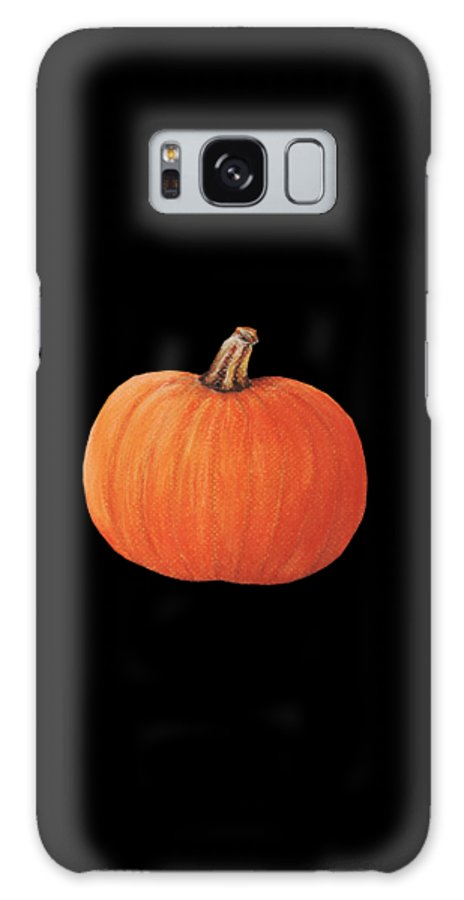 Malakhova Galaxy S8 Case featuring the painting Pumpkin by Anastasiya Malakhova