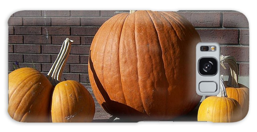 Pumpkin Galaxy Case featuring the photograph Pumpkins by Emily Young