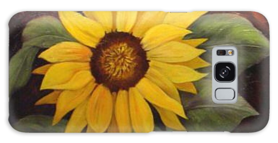 Still Life Galaxy Case featuring the painting Pure Sunshine SOLD by Susan Dehlinger