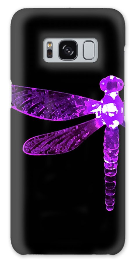 Purple Dragonfly Galaxy S8 Case