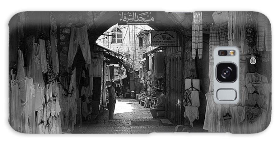 Quarter Merchants Galaxy S8 Case featuring the photograph Quarter Merchants by John Rizzuto