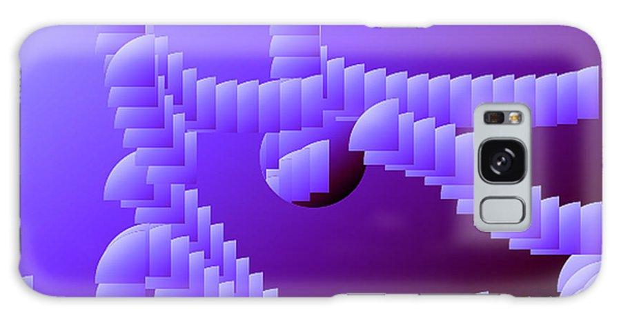 Digital Galaxy S8 Case featuring the digital art Quarter Shell by Ron Bissett