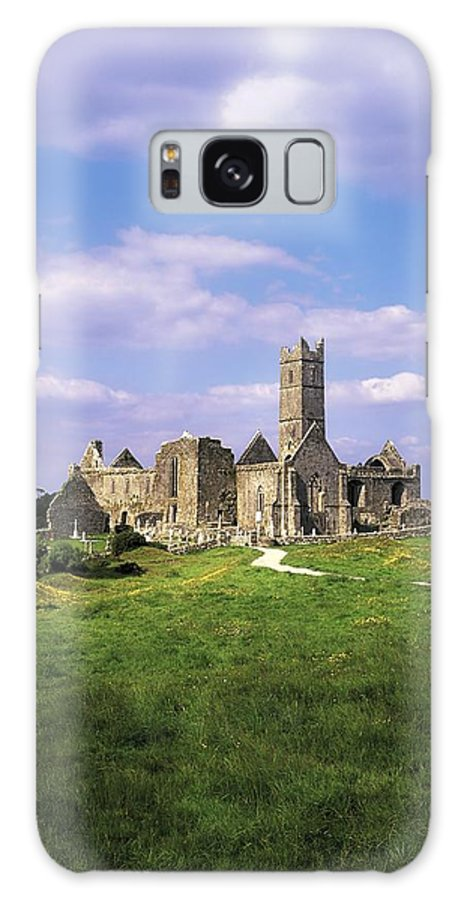 Cemetery Galaxy S8 Case featuring the photograph Quin Abbey, Quin, Co Clare, Ireland by The Irish Image Collection
