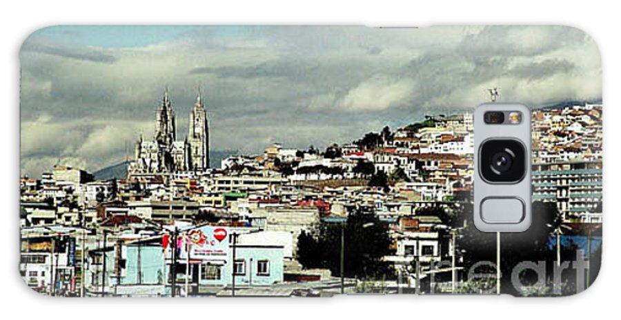 Ecuador Galaxy Case featuring the photograph Quito by Kathy McClure