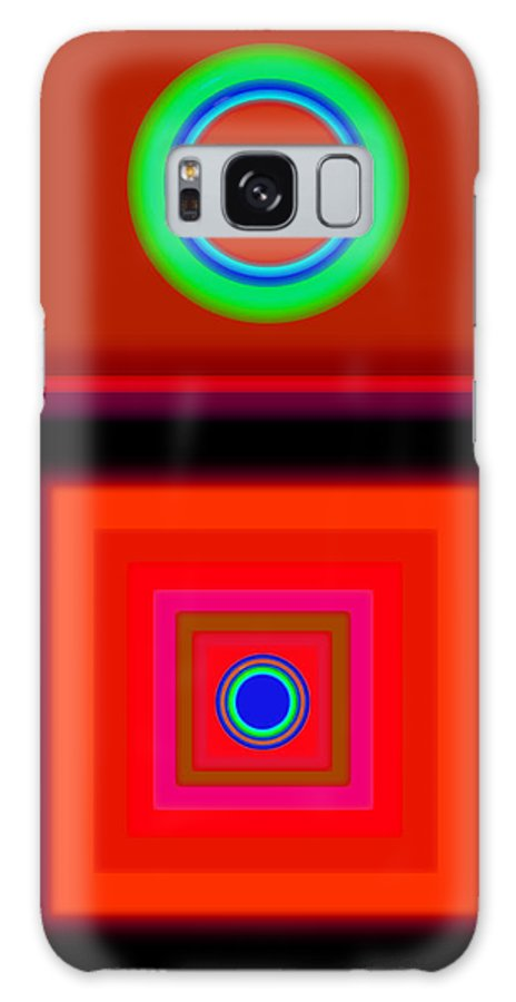 Classical Galaxy S8 Case featuring the digital art Radio Palladio by Charles Stuart