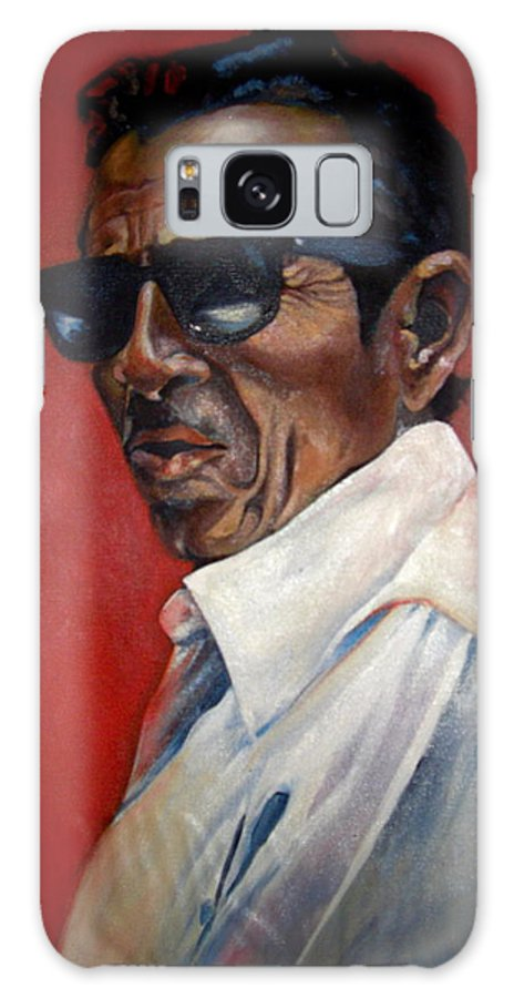 Portrait Galaxy S8 Case featuring the painting Rafael by Yxia Olivares