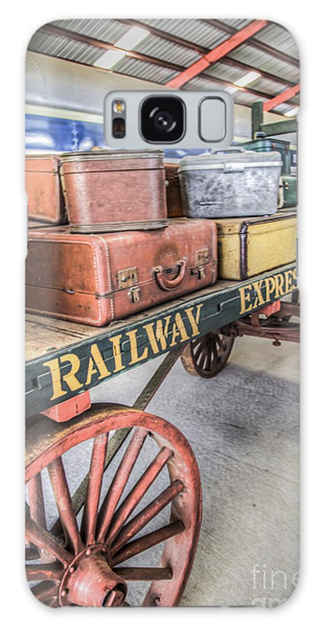 Railway Express Agency Galaxy S8 Case featuring the photograph Railway Express Agency by Jim Raines