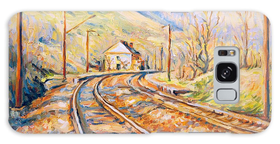 Railway Station Spring Colors Galaxy S8 Case