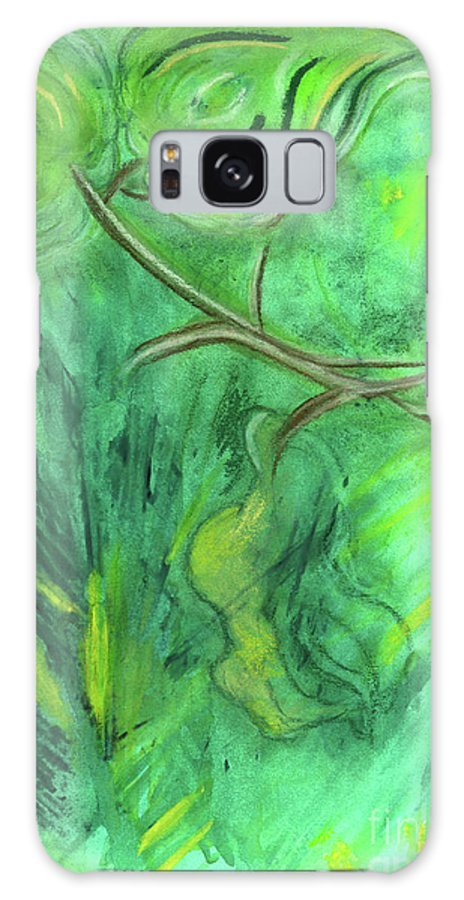 Watercolor Galaxy S8 Case featuring the painting Rain Forest Revisited by Mary Zimmerman