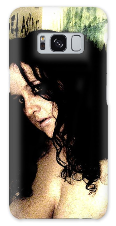 Nude Galaxy S8 Case featuring the photograph Rain by Meghann Brunney